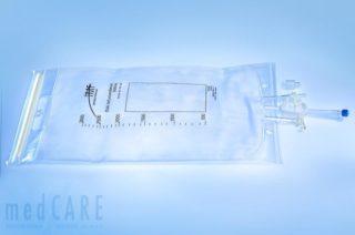 MF 1666 Infusionsmischbeutel mit integriertem Luerlock-Anschluß 3000ml EVA